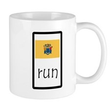 sticker new jersey run.png Mugs