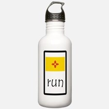 sticker new mexico run.png Water Bottle