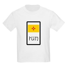 sticker new mexico run.png T-Shirt