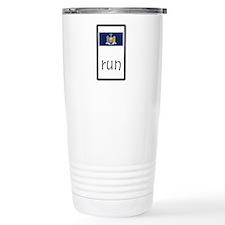 sticker new york run.png Travel Mug