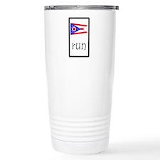 sticker ohio run.png Travel Mug