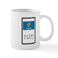 sticker oklahoma run.png Mugs