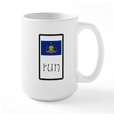 sticker pennsylvania run.png Mugs