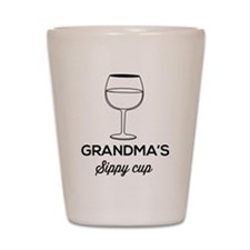 Grandma's Sippy Cup Shot Glass