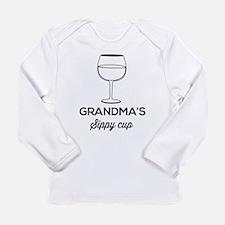 Grandma's Sippy Cup Long Sleeve T-Shirt