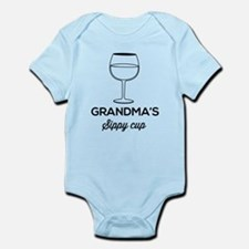 Grandma's Sippy Cup Body Suit