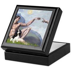 Creation and Tri Cavalier Keepsake Box