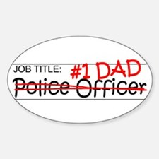 Job Dad Police Officer Decal