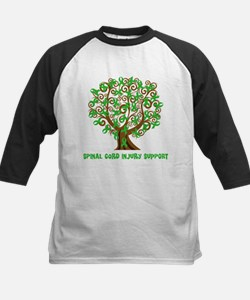 Spinal Cord Injury Support tree Baseball Jersey