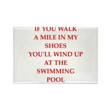 water polo and swimming Magnets