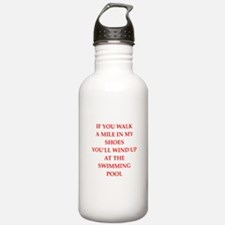 water polo and swimming Water Bottle