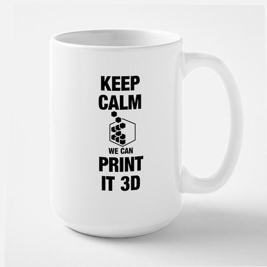 3d Printer Large Mug Mugs