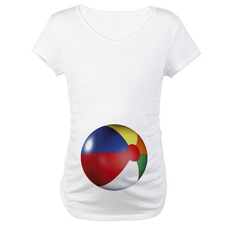 Beach Ball Maternity T-Shirt