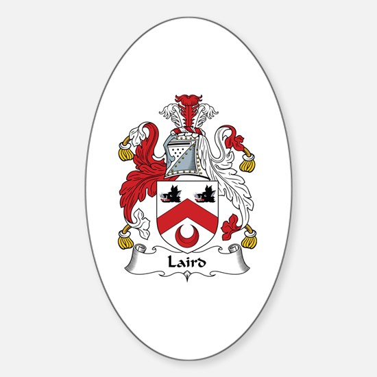 Laird Oval Decal