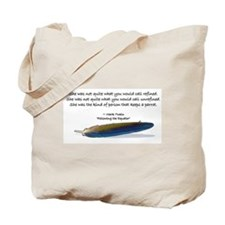 Mark Twain's parrot quote Tote Bag