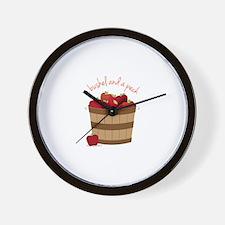 Bushel and a Peck Wall Clock