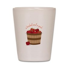 Bushel and a Peck Shot Glass