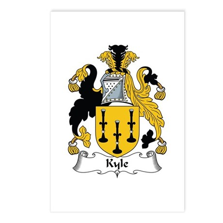 Kyle Postcards (Package of 8)