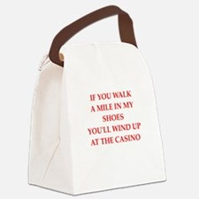 casino Canvas Lunch Bag