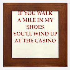 casino Framed Tile