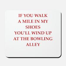 bowler Mousepad