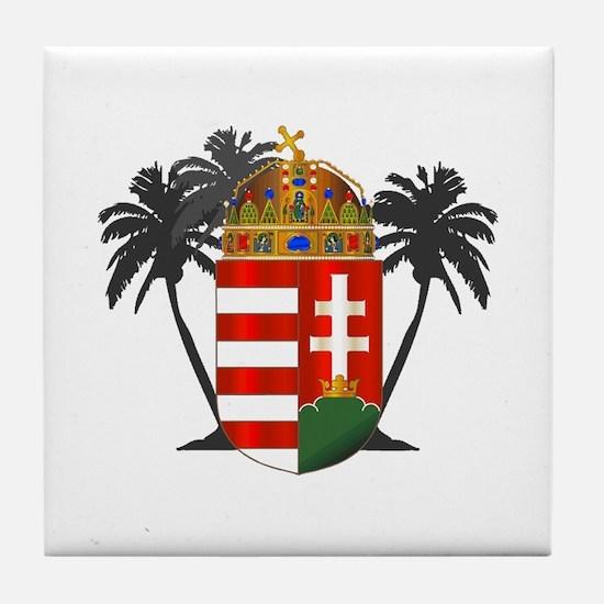 Arpad Crest - Tile Coaster