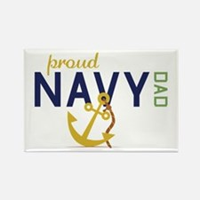 Proud Navy Dad Magnets