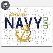 Proud Navy Dad Puzzle