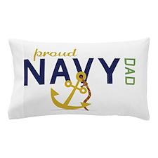 Proud Navy Dad Pillow Case