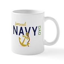 Proud Navy Dad Mugs