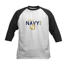 Proud Navy Dad Baseball Jersey