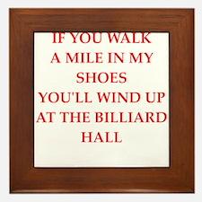 billiard Framed Tile