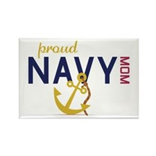 Proud navy MOM Magnets