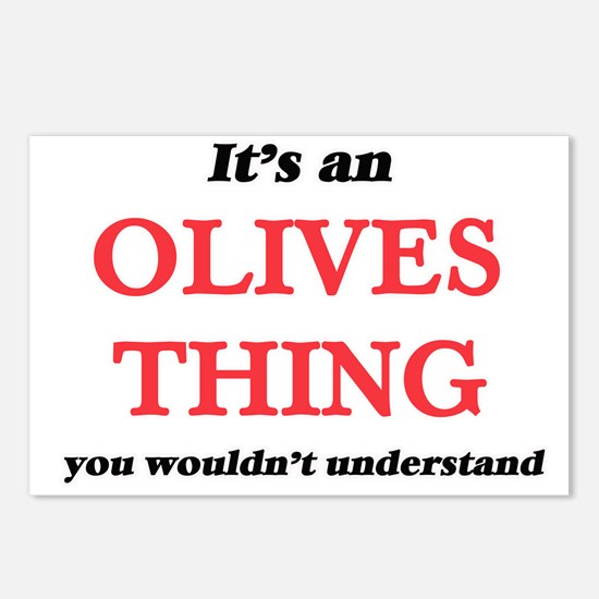 It's an Olives thing, Postcards (Package of 8)