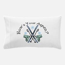 Hows Your Aspen Pillow Case