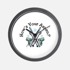 Hows Your Aspen Wall Clock