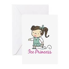 Ice Princess Greeting Cards