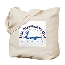 Lake Ossawinnamakee Tote Bag