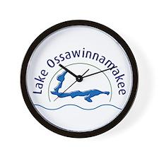 Lake Ossawinnamakee Wall Clock