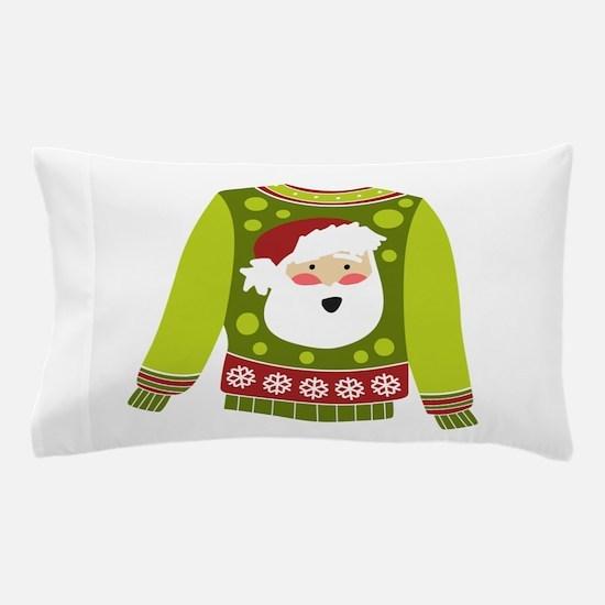 Santa Sweater Pillow Case