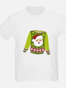Santa Sweater T-Shirt