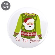 "T Is The Season 3.5"" Button (10 pack)"