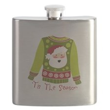 T Is The Season Flask