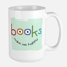 bookHAPPY_mug Mugs