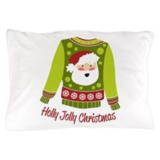 Holly Jolly Christmas Pillow Case