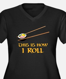 This Is How I Sushi Roll Plus Size T-Shirt