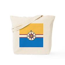 Cute Ship nautical compass Tote Bag