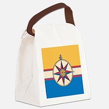 Unique Ship nautical compass Canvas Lunch Bag