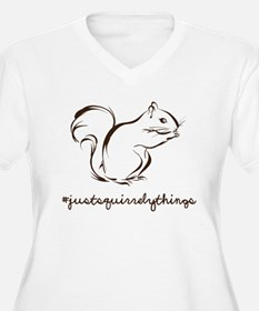 Just Squirrely Things Squirrel Plus Size T-Shirt