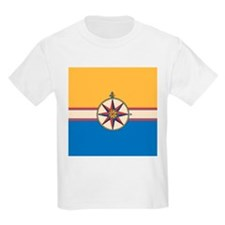 Antique Compass Rose Nautical Design T-Shirt